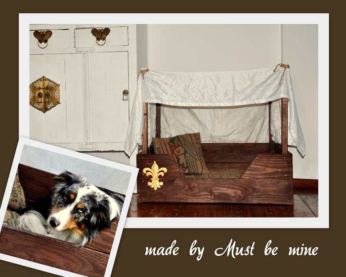 must be mine mein hundebett diy. Black Bedroom Furniture Sets. Home Design Ideas