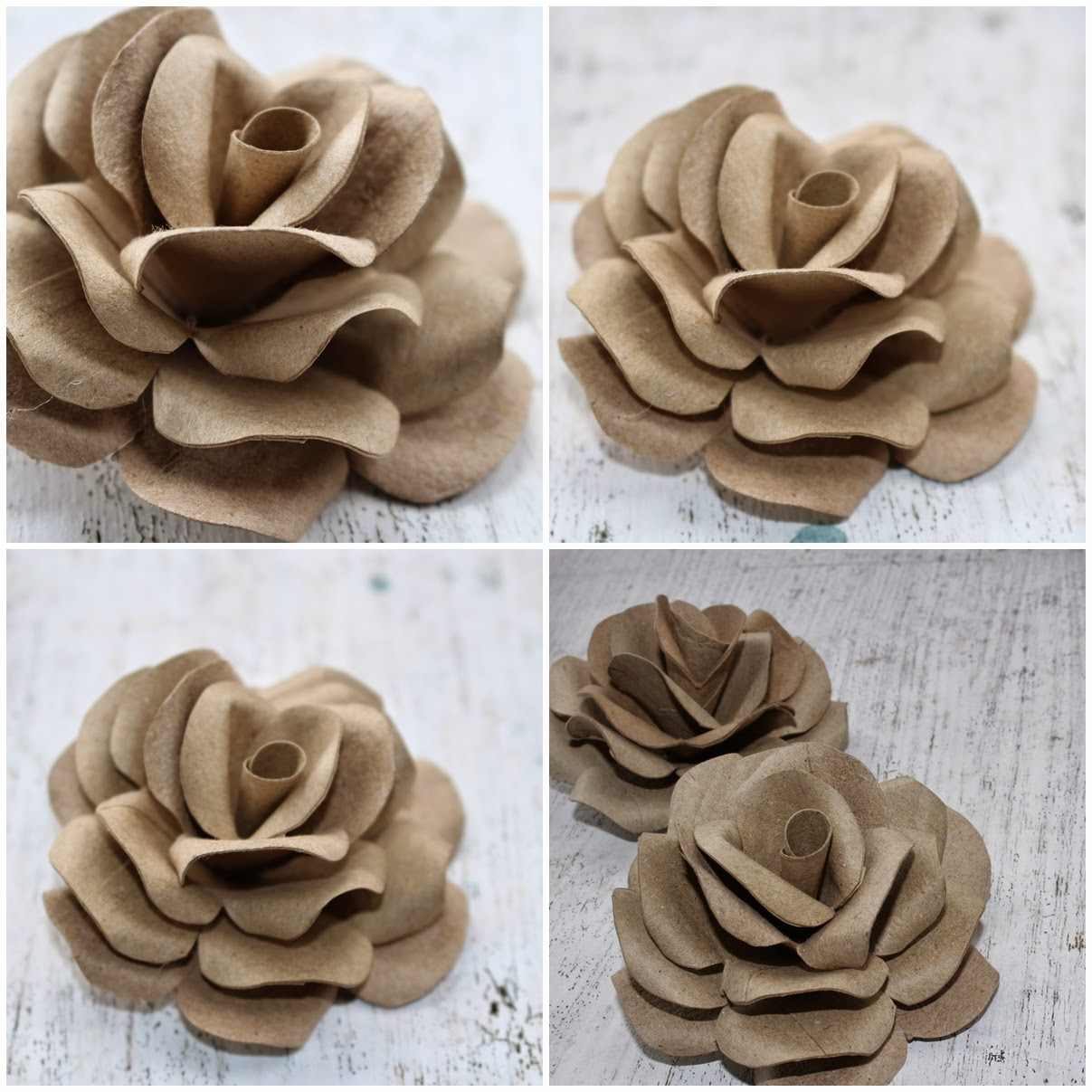 Diy how to make roses using empty toilet tissue tubes reduce click photos to enlarge mightylinksfo Choice Image
