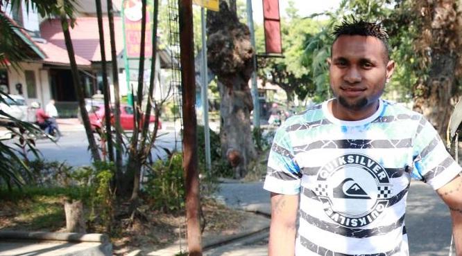 Kapten Sriwijaya FC Titus Bonai