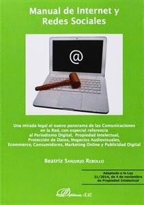 Manual de Internet y Redes Sociales. Novedades Derecho Marzo, en Libreria Cilsa.