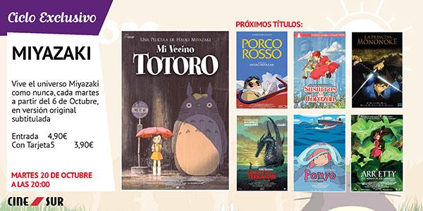 """Entrada doble """"Mi Vecino Totoro"""". 20 de Octubre en Sevilla a las 20:00 (Ciclo Miyazaki CineSur)"""