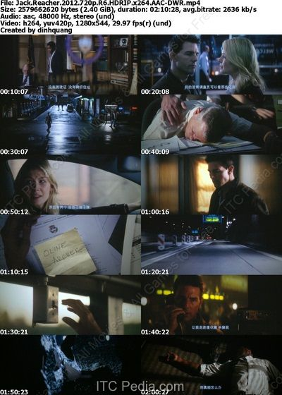 Jack Reacher (2012) 720p R6 HDRip x264 AAC - DWR
