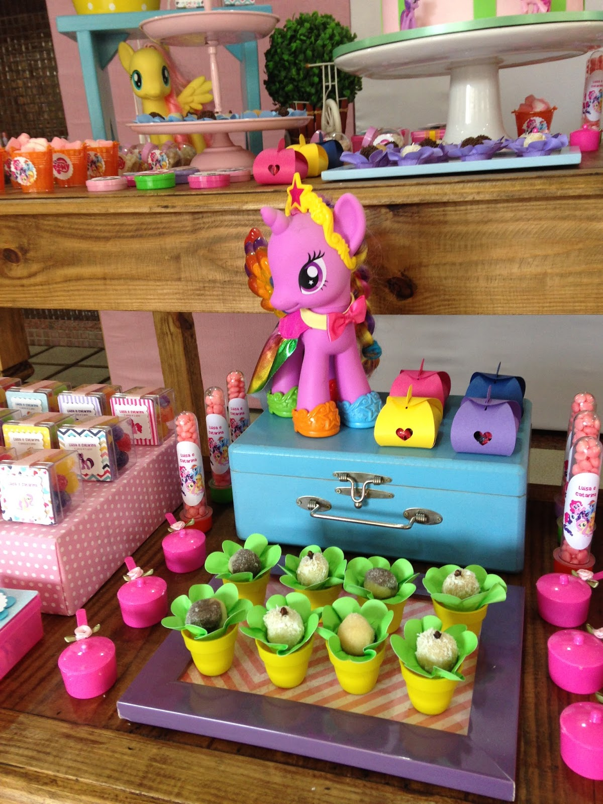How do you clean a My Little Pony?
