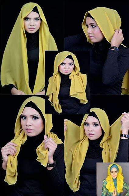 Hijab khaliji tutorial