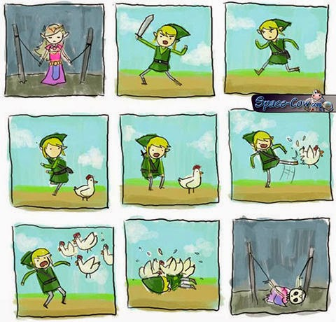 funny comics Zelda humor