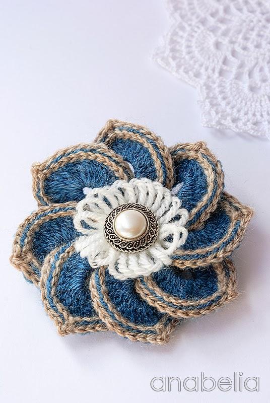 Crochet A Flower Brooch Pattern : How to Make Fun Button Brooch Tutorials ~ The Beading Gem ...