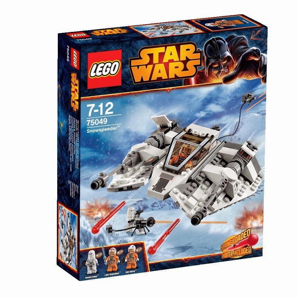 LEGO Star Wars Snowspeeder 75049 nave