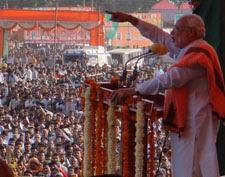 Modi mocked Lalu, termed RJD as 'Rashtriya Jaadu-Tona Party'
