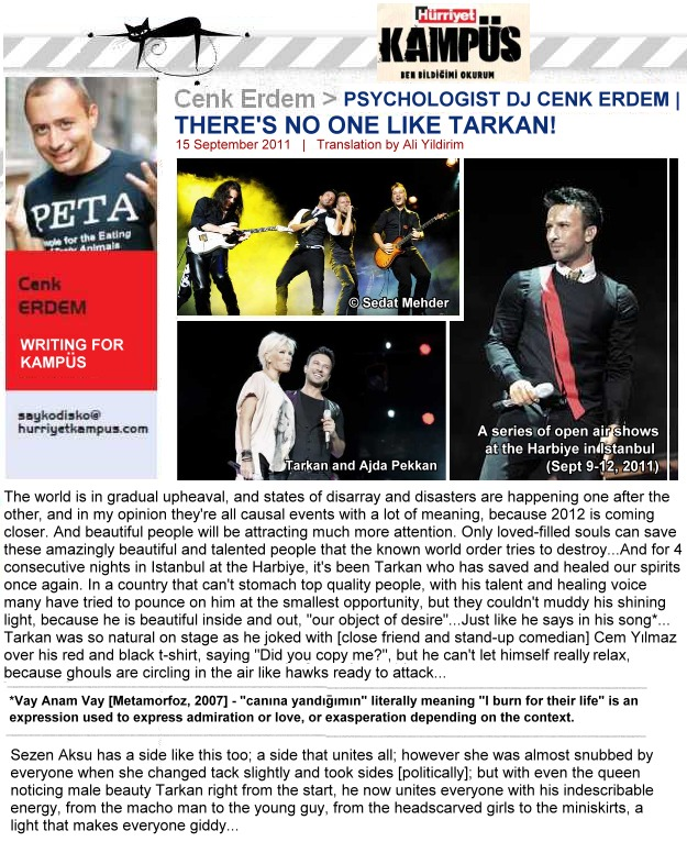 There is no one like Tarkan pt 1