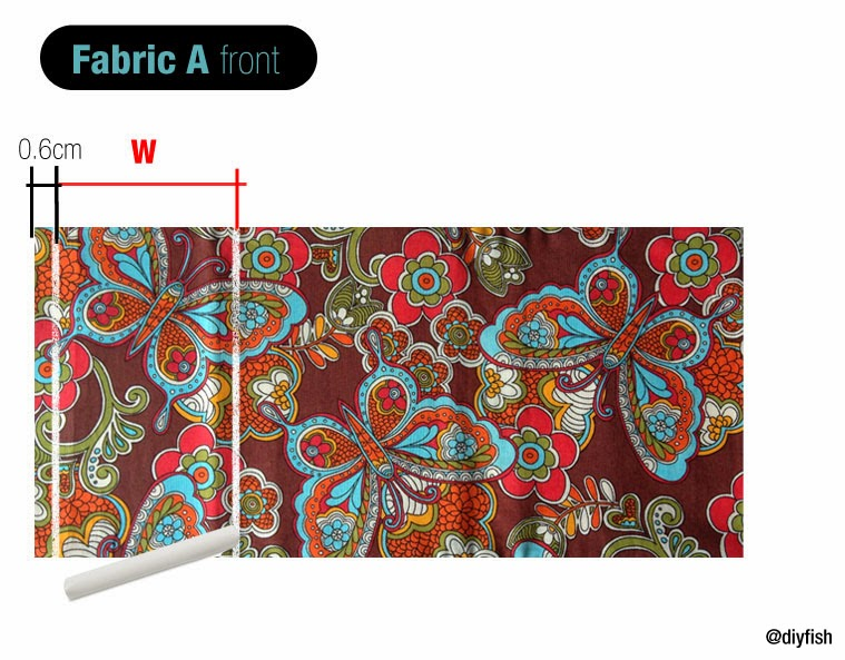 Make Adjustable Fabric Book Cover : Tutorial no adjustable fabric book cover d i y