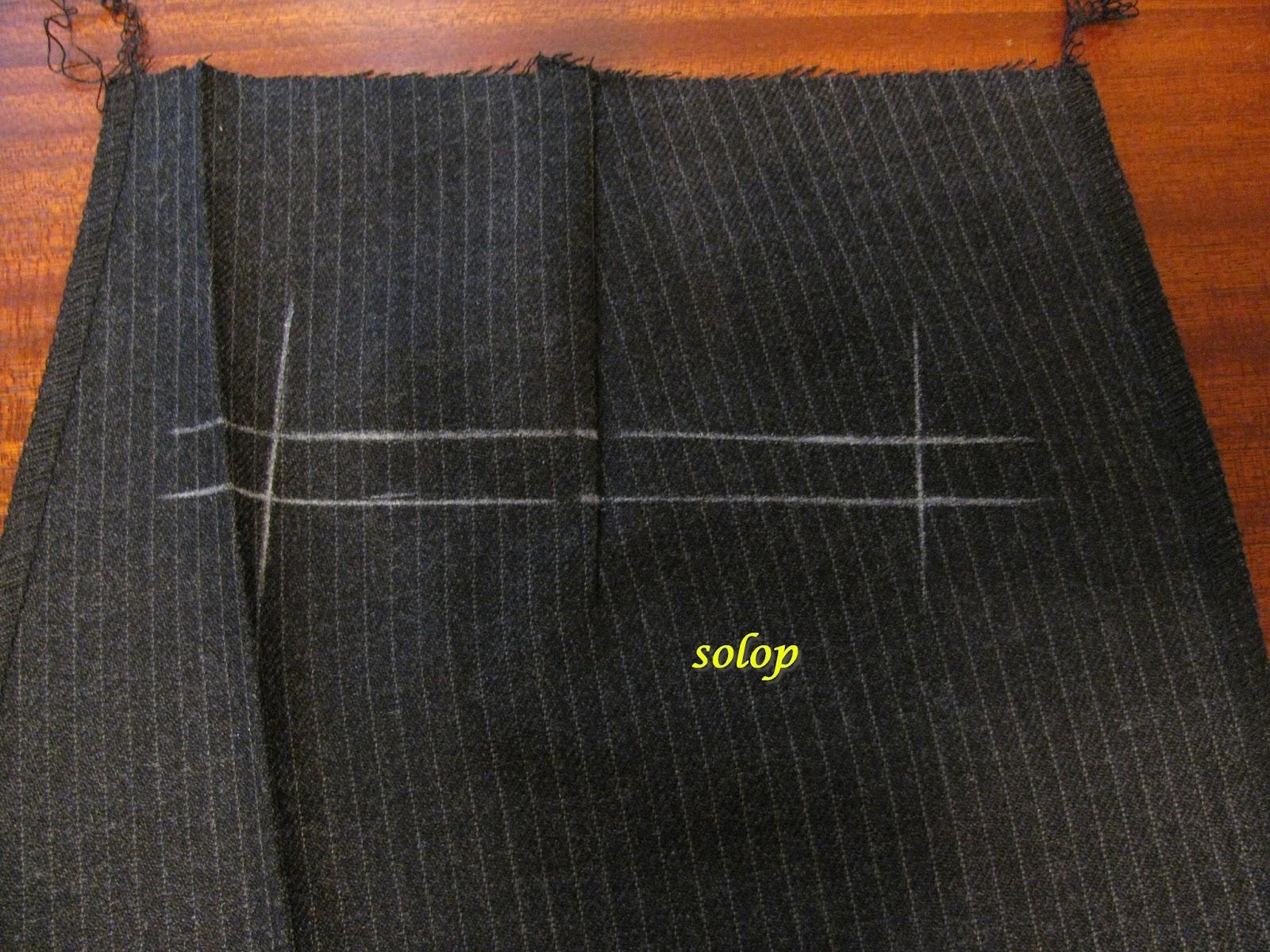 Как сделать карманы на штанах 332