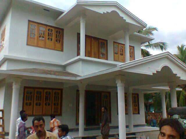 Carpenter work ideas and kerala style wooden decor wooden for Single window design