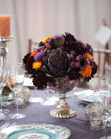 Purple Centerpiece Ideas For Your Purple Theme Wedding
