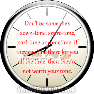 Don't be someone's down-time
