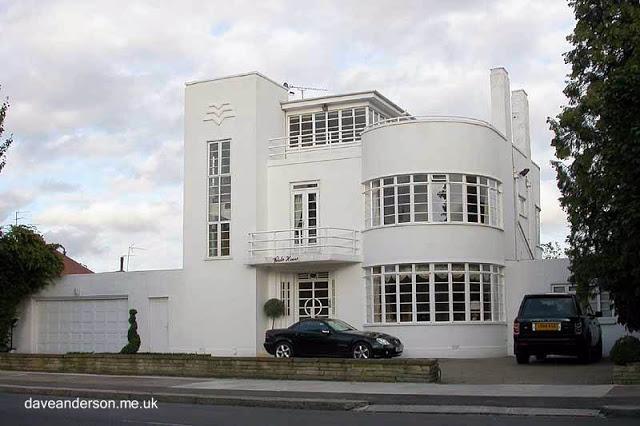 Casa Racionalista inglesa en Londres año 1936