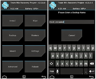 Cara Instal TWRP Custom Recovery di Android Xiaomi RedMi 1S Tanpa PC Komputer