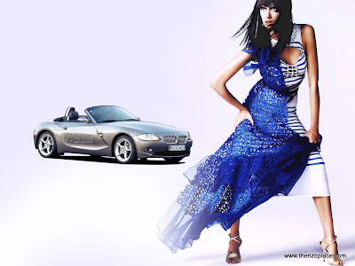 Supercars girl 2011 wallpaper