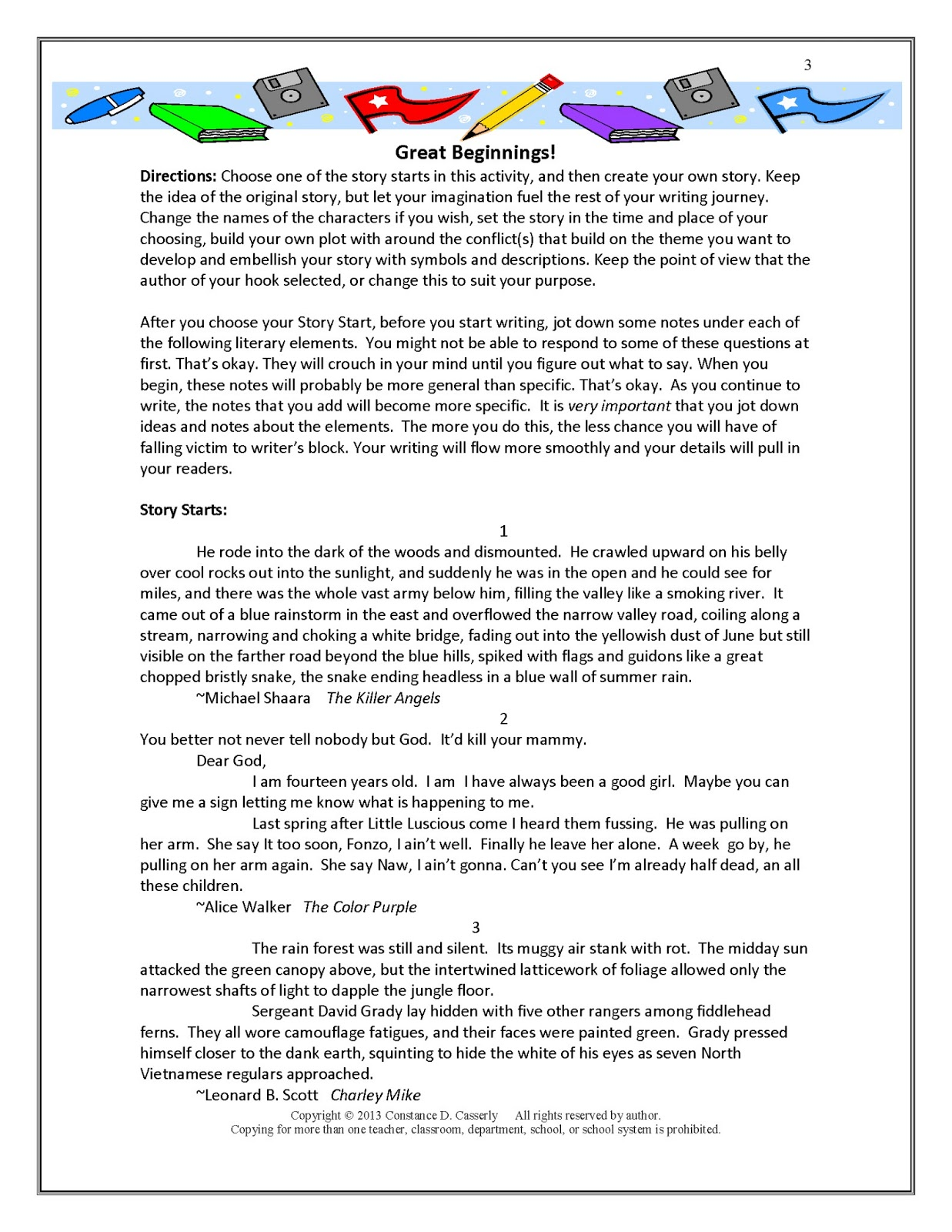 teach it write 2013 middle and high school ela lesson plan finding voice in writing