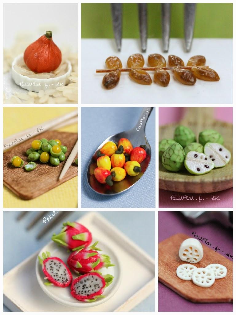 Week 7 of Miniature Art Sculpture of Fruit and Veggies, Stephanie Kilgast