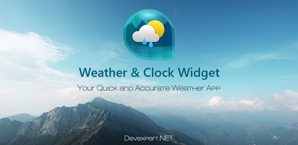 Tempo & Clock Widget sem Ads Apk v1.1.0 Full