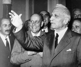 Enrico de Nicola presidente della Repubblica Italiana