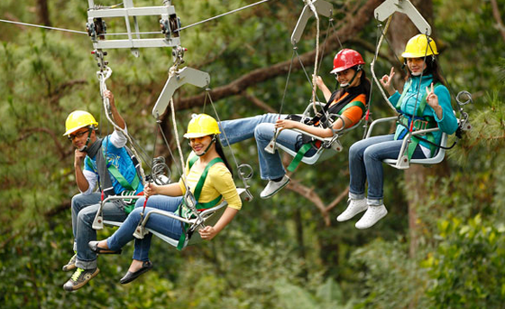 Things to do Baguio Tree Top Adventure Baguio: Experience the extreme - Nheng's Wonderland