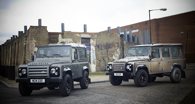 фотографии Land Rover Defender 2012