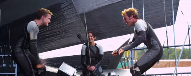 More Clips Released From The Catching Fire BTS Documentary