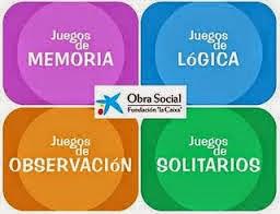 JUEGOS DE MEMORIA, LÓGICA, OBSERVACIÓN