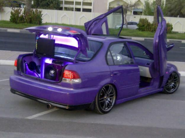 MODIFIED CARS: HONDA CIVIC FULL MODIFIED