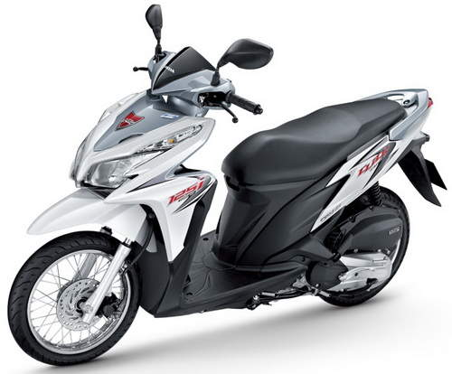 All About Ducati: 2012 Honda Click 125i Color Options and Spec