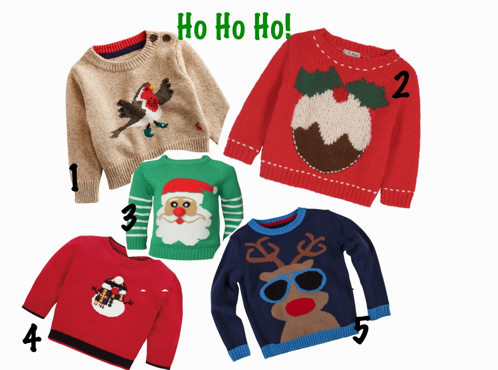 Cool Christmas jumpers for kids | V. I. BUYS