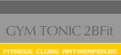fitness centrum club GYM TONIC-2BFIT  Antwerpen fitness lessen spinning voedingsbegeleiding cursussen trilplaat lokaal afslanken core power program kids en teeners