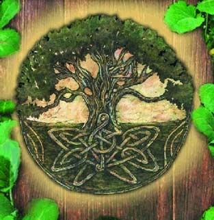 Mandala de la vida...Símbolo Celta...