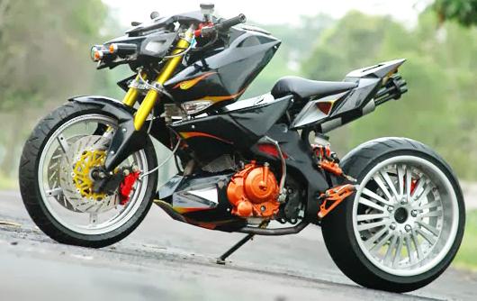 Otomotif Gambar Motor Drag Modifikasi Paling Keren