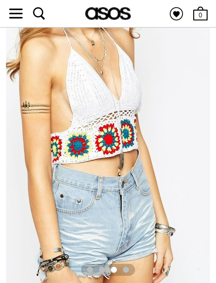 http://www.asos.com/spiritual-hippie/spiritual-hippie-crochet-bralet-crop-top-with-multi-colour-detail/prod/pgeproduct.aspx?iid=4982560&clr=White&SearchQuery=white+crop+top&pgesize=36&pge=0&totalstyles=203&gridsize=3&gridrow=2&gridcolumn=2
