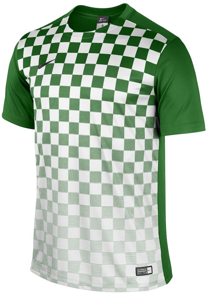 Nike 2015 16 teamwear trikots enth llt nur fussball for Red and green checked shirt