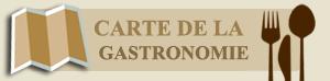 Carte gastronomique du Languedoc