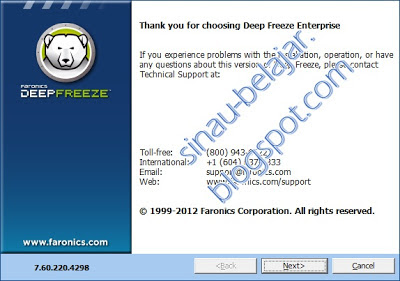 Download Deep Freeze Enterprise 7.6 Support Windows 8