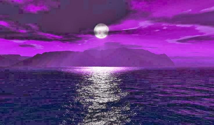 Μωβ φεγγάρι