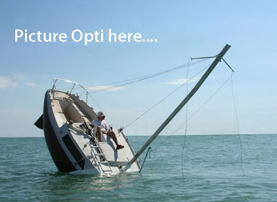 Annapolis Performance Sailing APS Don't Let your Opti Sink like this...