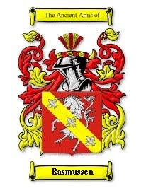 Rasmussen family crest