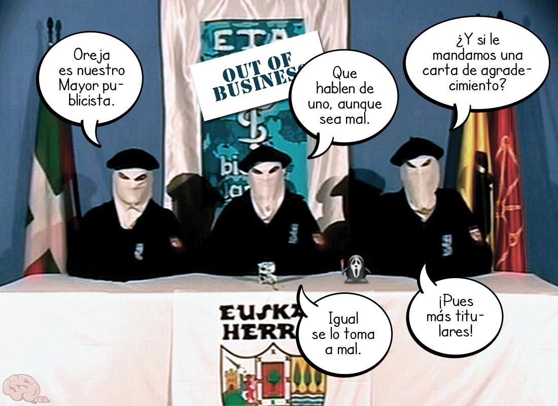 Lo no castellano es ETA