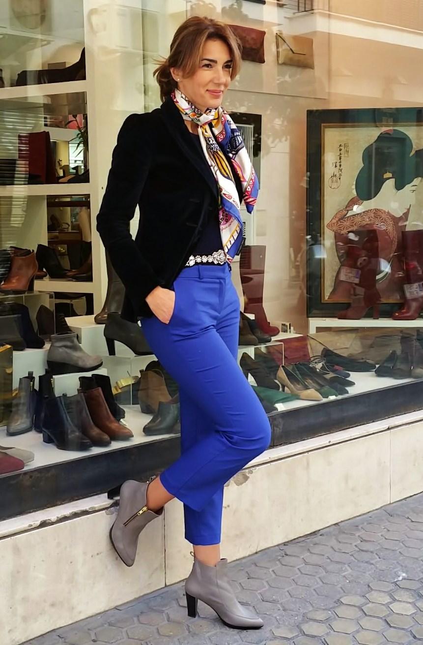 C mo combinar tu look sport con stilettos o botines blog - Colores para combinar con gris claro ...