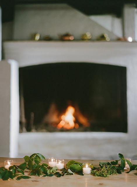 Aconchegante decoração de Natal | Imagem via Serviços originais do casamento.