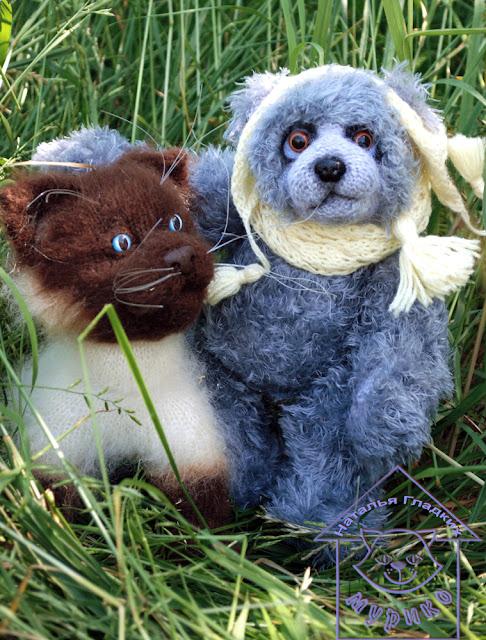 мишка, авторская игрушка, тедди, купить игрушку, интеръерная игрушка,мурико