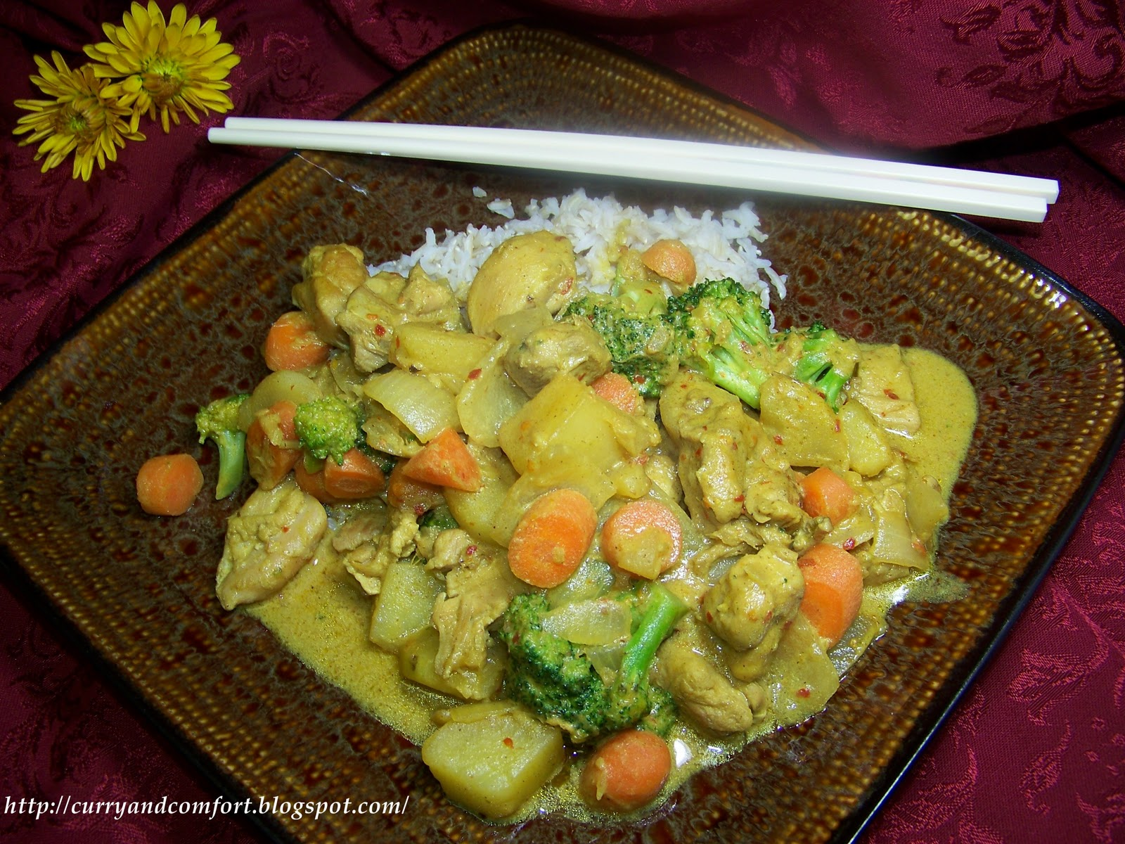how to cook chinese curry