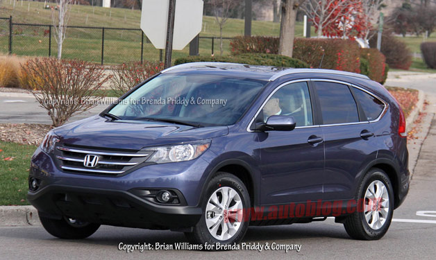 2012 Honda CR-V in the flesh