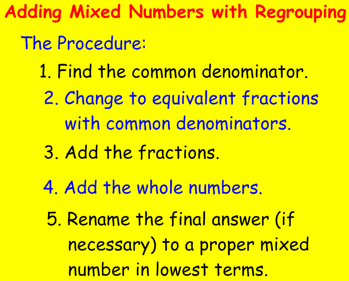 Mixed Numbers - Lessons - Tes Teach