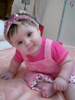 Smile Girl Baby Pictures With Pink Dress Photos